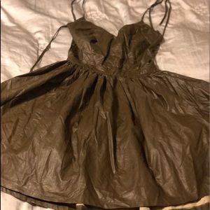 Miss avenue gorgeous olive dress.